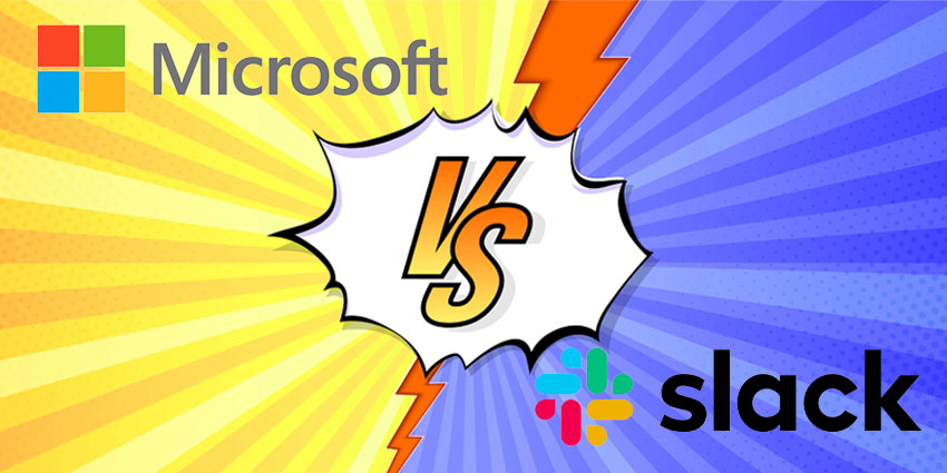 Slack and Microsoft Clash Again