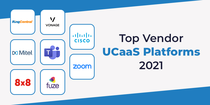 Top Vendor UCaaS Platforms 2021