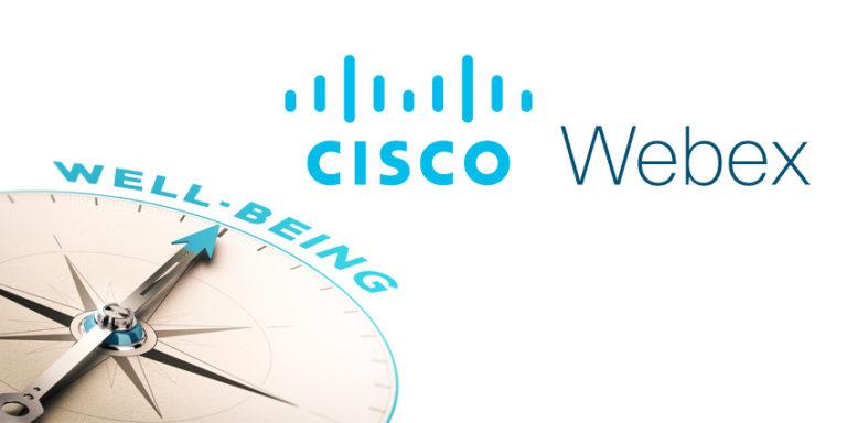 Cisco enhances Webex wellbeing tools
