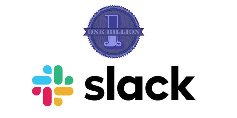 Slack hits $1bn revenue run rate