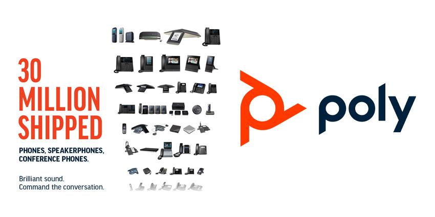 Poly Celebrates Shipping 30 Millionth IP Phone
