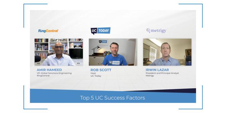 Top 5 UC Success Factors