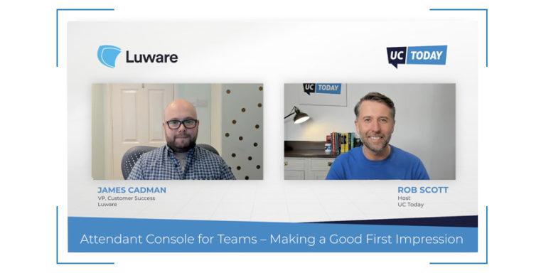 Luware Attendant Console for Teams
