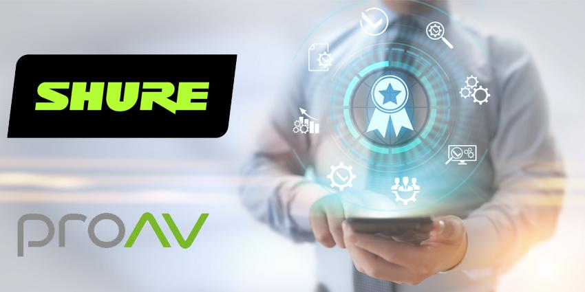 ProAV gets top Shure accreditation