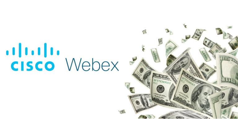 Record quarter for Webex