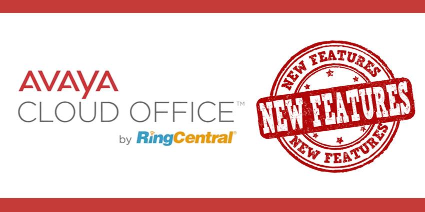 Avaya Cloud Office New Features
