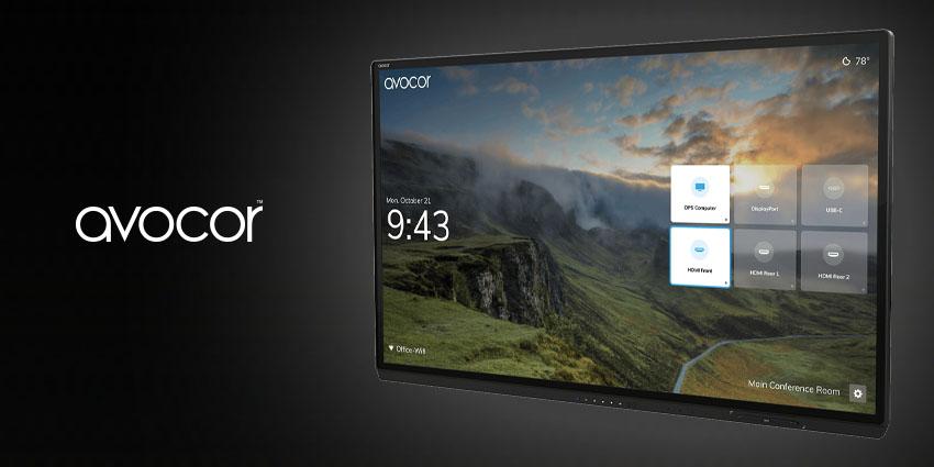 Avocor Introduces New Interactive Displays