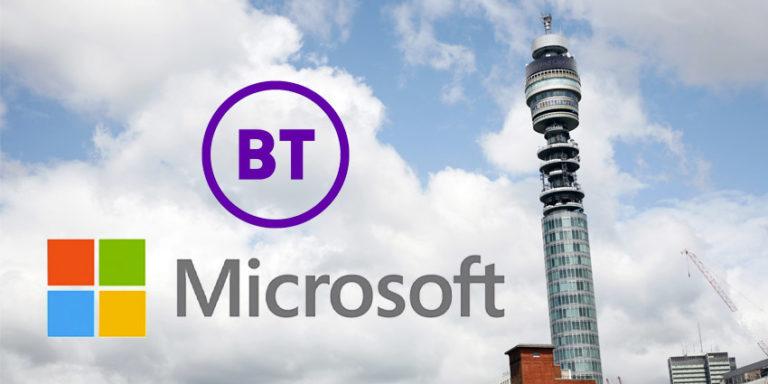 BT and Microsoft partner