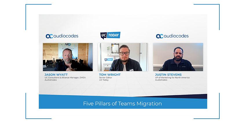Five Pillars of Teams Migration