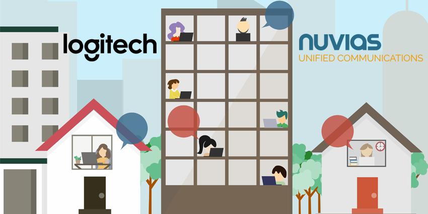Nuvias Expands Hybrid Work Portfolio with Logitech