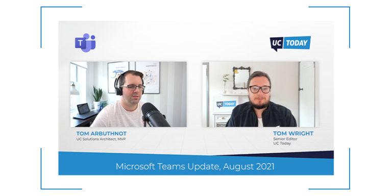 Microsoft Teams AUG update