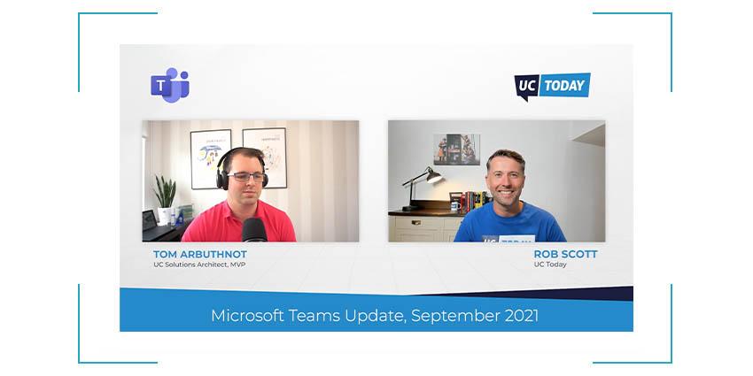 Microsoft Teams News SEPTEMBER Update