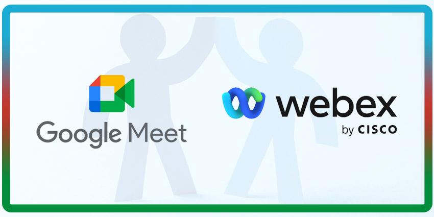 Google and Webex Partner for Interoperability