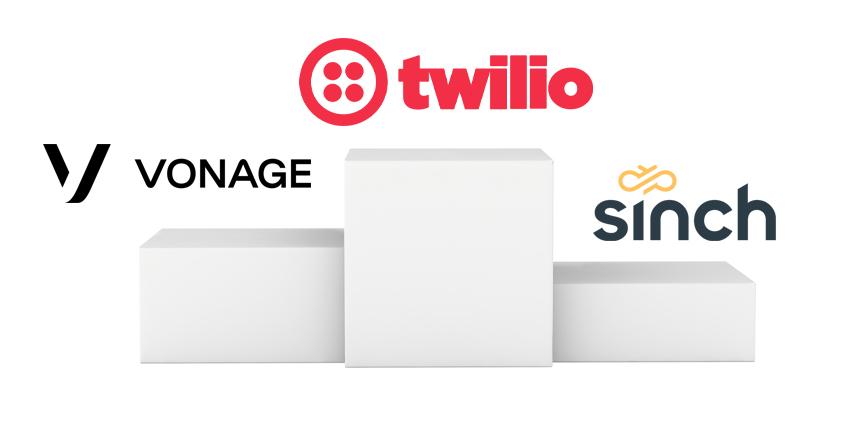 Twilio, Vonage and Sinch Leading High Growth CPaaS Market