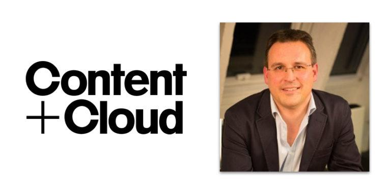 Content abd Cloud logo alongside headshot of Dan Coleby
