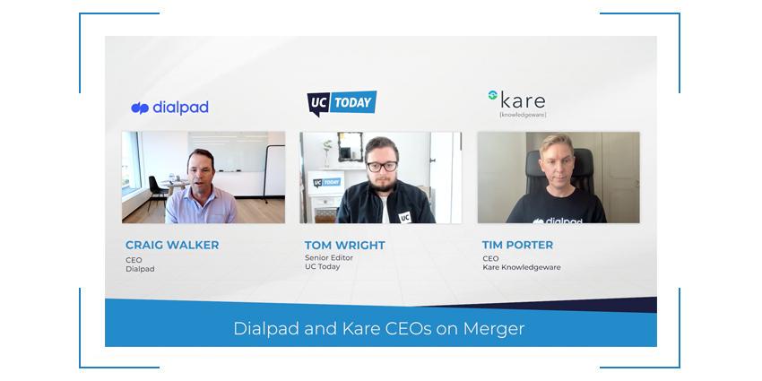 Dialpad and Kare CEOs on Merger